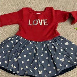 Minnie Mouse love dress